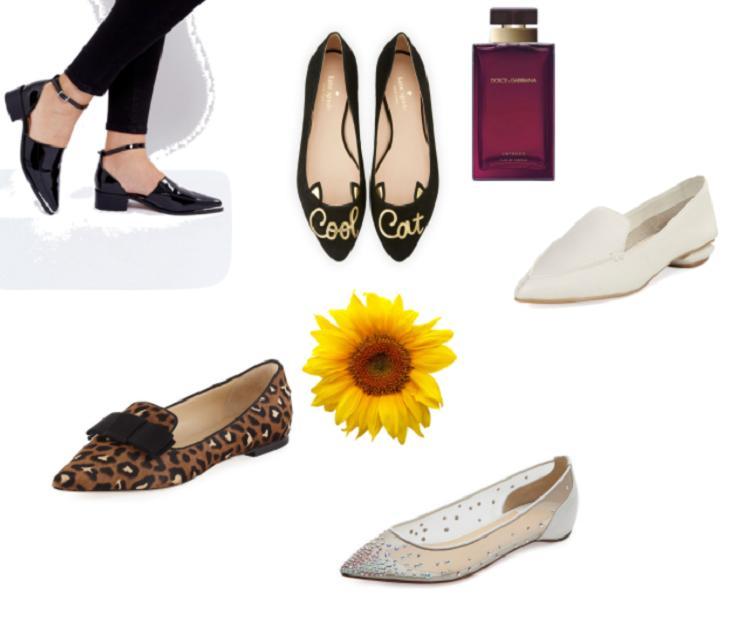 4.pilih Pointed Flat Shoes Untuk Membuat Ilusi Kaki Yang Lebih Panjang