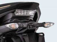 Sporty Integrated Rear Handle Grip